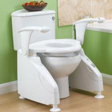 WC Lift, il solleva wc che aiuta l'anziano a sedersi e sollevarsi dal wc senza cadere