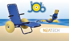 Sedia da mare JOB: la carrozzina da mare per disabili che va anche in acqua