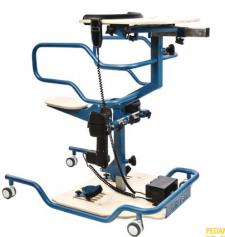 Verticalizzatore elettrico che aiuta le persone con disabilità ad alzarsi e sollevarsi da sole
