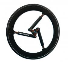 Softwheel: le ruote per carrozzina con sospensioni interne adattabili e ammortizzazione totale