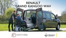 Renault Grand Kangoo Wav accessibile by Focaccia: spazio e massimo comfort nel trasporto carrozzine