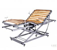 Lifecare, la rete elettrica motorizzata che trasforma il letto in letto ospedaliero