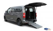 Allestimento Taxi by Orion Promobility con rampa ribaltabile su vari modelli auto per trasporto carrozzine disabili
