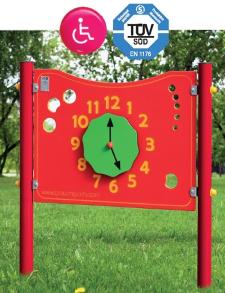 Pannelli sensoriali per parco giochi inclusivi utilizzabili anche da bambini con disabilità