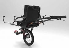 Joelette, la carrozzina per portare persone disabili su sentieri di montagna per escursioni, gite e trekking