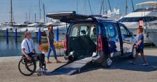 Citroen Berlingo F-Style per persone in carrozzina. L'auto bella da vivere, comoda e sicura, con allestimento Focaccia Group