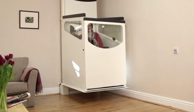 Wheelchair lift stratum l ascensore per carrozzine senza - Ascensore in casa ...