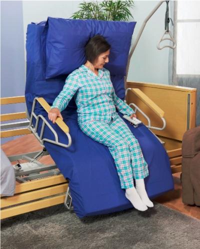 Letto elettrico rotante sicurezza e benessere a casa per - Prezzo letto per disabili ...