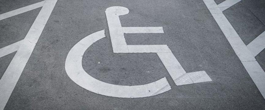 parcheggio per disabili