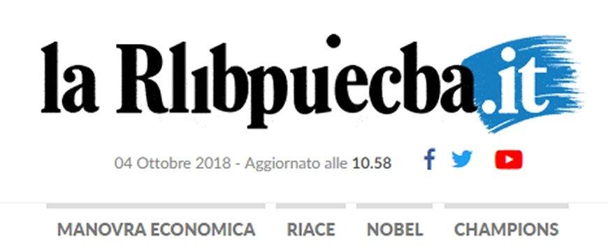 Dislessia il sito de la repubblica scritto male for Sito repubblica