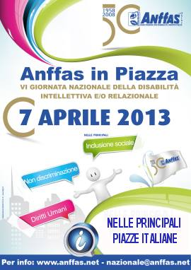 Anffas in piazza