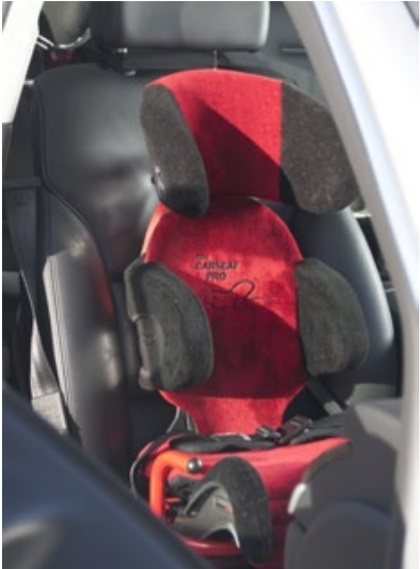 Carseat Pro in automobile