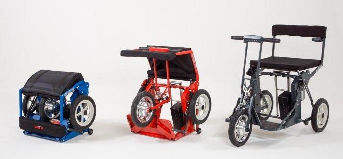 Bici Pieghevole Di Blasi.Scooter Elettrico Pieghevole Di Blasi R30 Per Disabili E Anziani