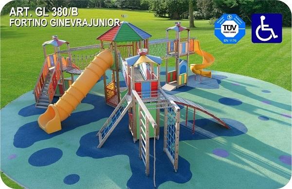 Giostre e parco giochi inclusivi e accessibili ai bambini for Piani domestici accessibili per disabili