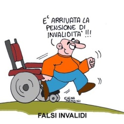 falso invalido civile