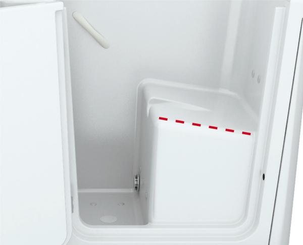 Vasche Da Bagno A Sedere Dimensioni : Prezzi vasche con sportello toaccess