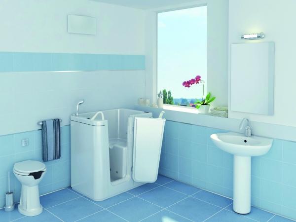 Tonga la vasca con sportello per disabili e anziani - Sportello vasca bagno ...