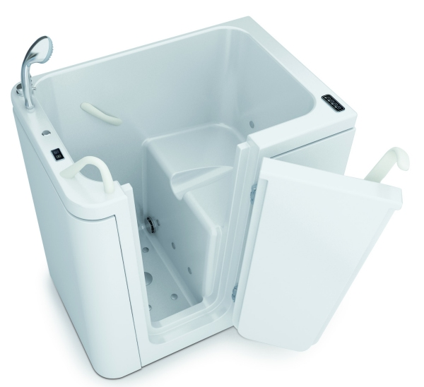 Tonga la vasca con sportello per disabili e anziani piccola e compatta - Vasche da bagno per disabili prezzi ...