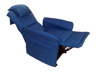 Poltrona relax ultrasottile per anziani e disabili con alzapersona