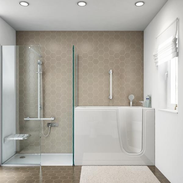 Vasche con sportello e vasca doccia con sportello anche - Vasca bagno con sportello ...