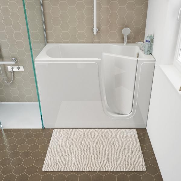 Vasche con sportello e vasca doccia con sportello anche per bagni molto piccoli - Dimensioni vasca da bagno piccola ...