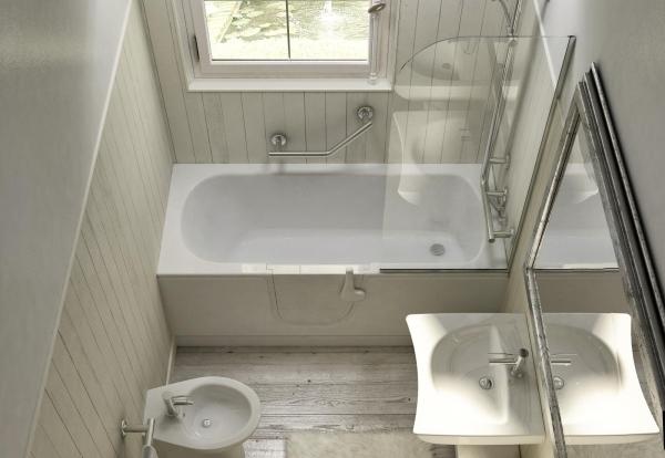 Vasche con sportello e vasca doccia con sportello anche per bagni molto piccoli - Vasca per bagno ...