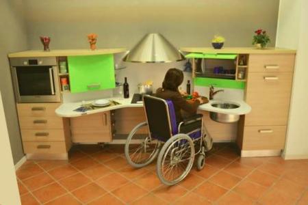 Ausili per la vita quotidiana - Cucine per disabili ...