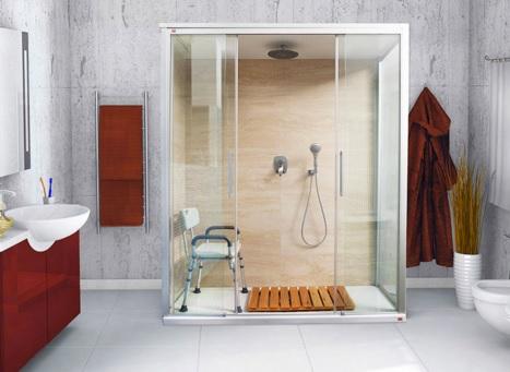 Modifica Vasca Da Bagno Per Anziani Prezzi : Trasformazione vasca in doccia remail disabili