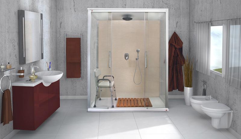 Vasca Da Bagno Per Disabili Dimensioni : Trasformazione vasca in doccia rinnovare il bagno con un