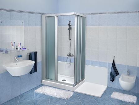 Ausili per il bagno - Piatto doccia piccolo ...
