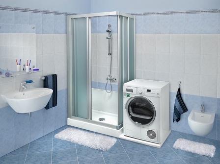 Ausili per il bagno - Lavatrice in bagno soluzioni ...