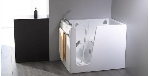 Vasche Da Bagno Con Apertura Laterale Prezzi : Vasca con apertura laterale remail per anziani e disabili