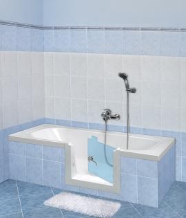 Vasca con sportello sicurezza per anziani e disabili - Remail vasche da bagno ...
