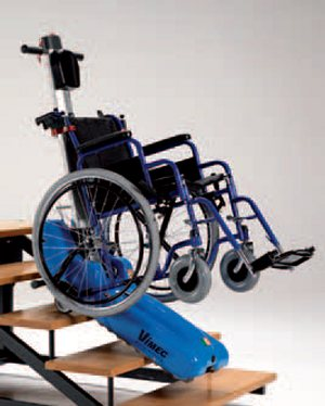 Roby t09 il montascale mobile a cingoli di vimec for Trattorino disabili