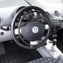 esempio di acceleratore al volante