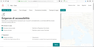 airbnb accessibile
