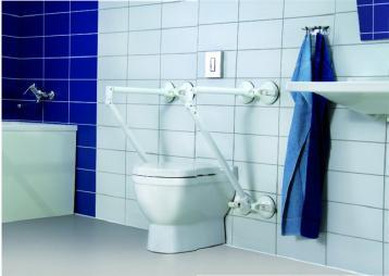 Ausili e maniglioni a ventosa bagno accessibile e sicuro - Maniglione disabili bagno ...