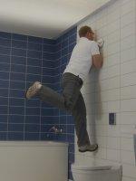 Ausili e maniglioni a ventosa bagno accessibile e sicuro - Maniglie per disabili bagno ...