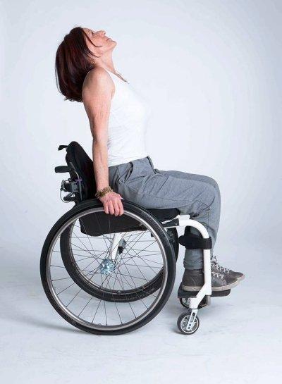 atleta yoga carrozzina