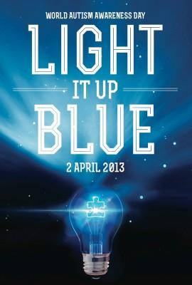 Giornata mondiale autismo in blu