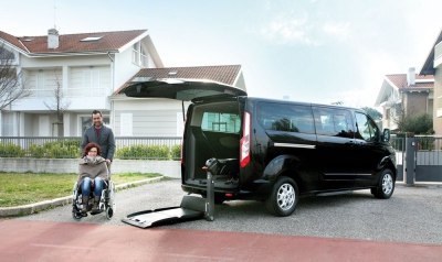 Ford Tourneo Custom per Trasporto Disabili