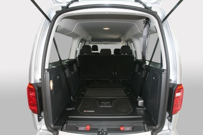 Interno VW Caddy F Style 3 Dettaglio Genius Ramp