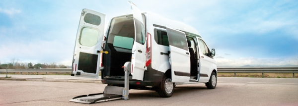 Ford Transit Custom allestito disabili