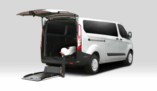 Ford Transit Custom allestito disabili3