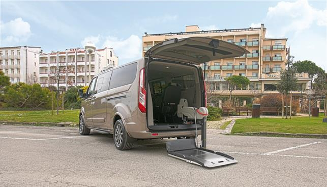 ford disabili con pianale