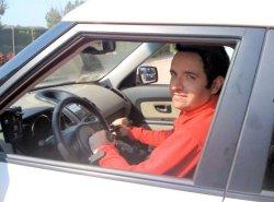 Massimo Lacchini alla guida