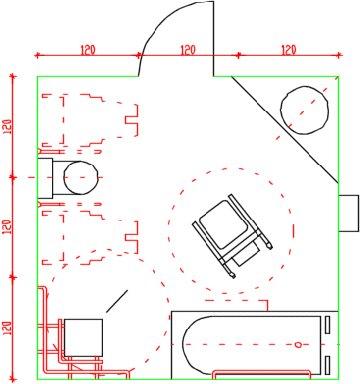 Barriere architettoniche progettare un bagno accessibile - Progettare bagno disabili ...