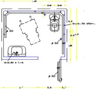 Studio tecnico crisci bagni - Schemi bagni disabili ...