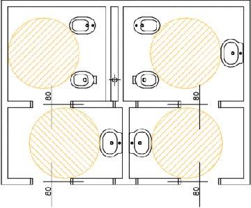 Misure bagno per disabili installazione climatizzatore - Condizionatore unita esterna piccola ...