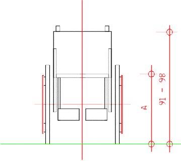 Barriere architettoniche sedia a rotelle - Divano angolare misure minime ...